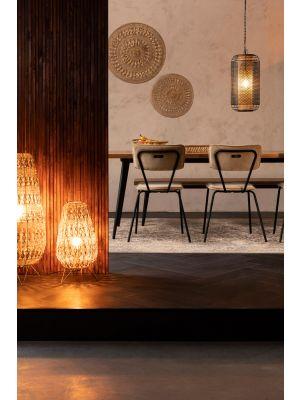 Dutchbone Filo Lamp M - Ø25 x H50 cm - Goud