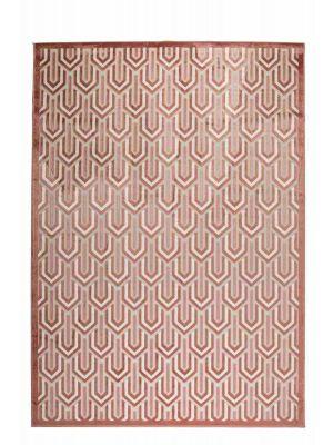 Zuiver Beverly Vloerkleed - B200 x L300 cm - Stof - Roze