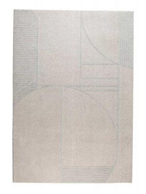Zuiver Bliss Vloerkleed Rechthoek - L230 x B160 cm - Stof Grijs/Blauw