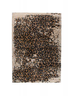 Dutchbone Satwa Vloerkleed - L300 x B200 cm - Panterprint