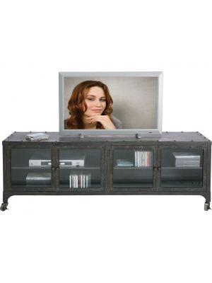 Kare Design TV Meubel Factory - 4-Deurs - L160 x B40 x H56 cm - Metaal