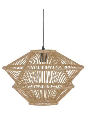 BePureHome Bamboo Hanglamp - B46 x D46 x H31 cm - Naturel
