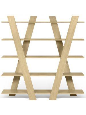 TemaHome Plankenkast Wind - 156x39x160 - Eiken
