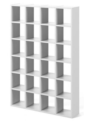 TemaHome Boekenkast Pombal Comp 2010-001 - B151 x D34 x H224 cm - Mat Wit