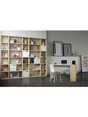 TemaHome Boekenkast Pombal Comp 2012-055 B255 x D34 x H224 cm - Wild Oak