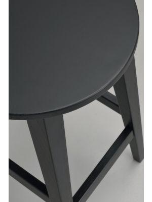Rowico Austin Barkruk Set van 2 - Zithoogte 65 cm - Zwart Eiken