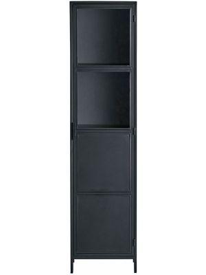 24Designs Dusk Vitrinekast - B50 x D40 x H200 - Metaal - Zwart