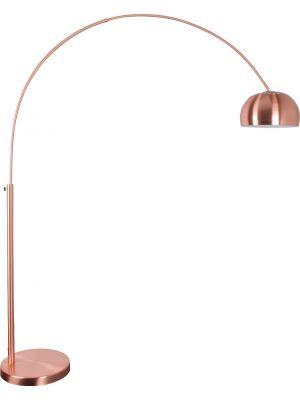 Zuiver Booglamp Metal Bow - H205 cm - Koper