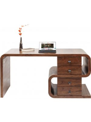 Kare Design Soft Snake Bureau - B150 x D70 x H76 cm - Walnoot