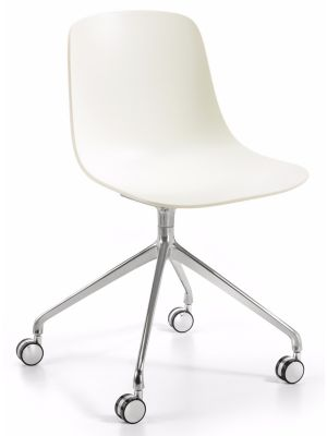 Infiniti Bureaustoel Pure Loop Binuance - Wit/Off White