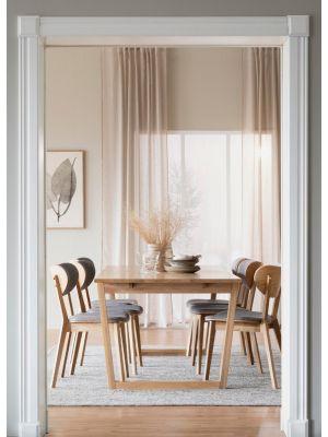 Rowico Colonsay Verlengbare Eettafel - Eikenfineer Tafelblad - L215 x B96 x H75 cm