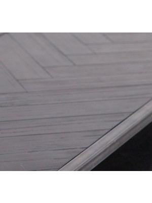 Eleonora Hudson Eettafel - 200x100x77 - Zwart Acacia Hout - Metalen Poten