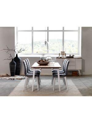Rowico Filippa Verlengbare Eettafel - L180/280 x B90 x H74 cm - Eiken