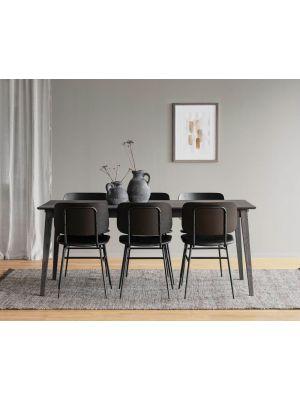 Rowico Filippa Verlengbare Eettafel - L180/280 x B90 x H74 cm - Bruin Eiken