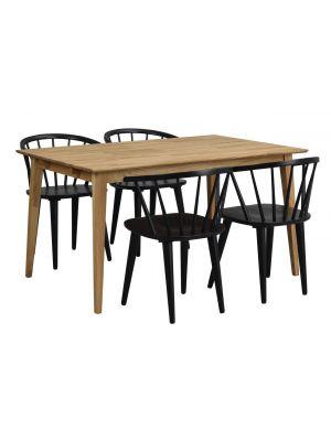 Rowico Filippa Verlengbare Eettafel - L140/240 x B90 x H74 cm - Eiken