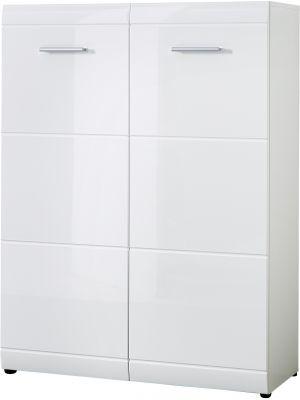 Germania Schoenenkast Adana Klein - L89 x B37 x H120 cm - Wit