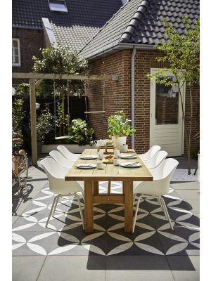 Hartman Sophie Rondo Elegance Chair - Set van 2 Tuinstoelen - Royal White