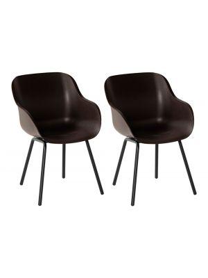 Hartman Sophie Rondo Elegance Chair - Set van 2 Tuinstoelen - Mahogany