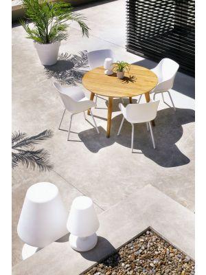 Hartman Sophie Rondo Organic Tuinstoel Royal White - Set van 2
