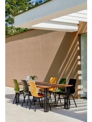 Hartman Sophie Rondo Wave Dining Tuinstoel Moss Green - Set van 2