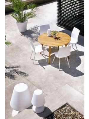 Hartman Sophie Rondo Wave Dining Tuinstoel Royal White - Set van 2