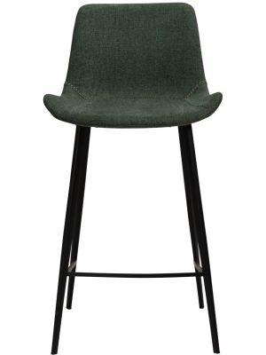 Dan-Form Hype Counter Barkruk - Set van 2 - Zithoogte 65 cm - Stof Groen