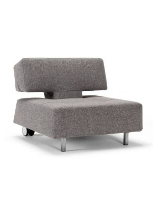 Innovation Long Horn Deluxe E.L. Fauteuil - Twist Granite 565