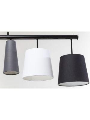 Kare Design Verstelbare Hanglamp Parecchi 5-Lichts B100 cm - Multikleur
