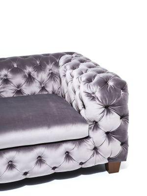 Kare Design My Desire Velvet 3-Zits Bank - 245 cm - Fluweel Grijs