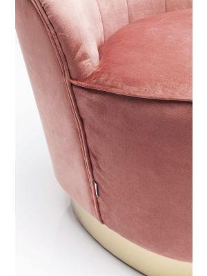 Kare Design Cherry Fauteuil Velvet - Fluweel Roze