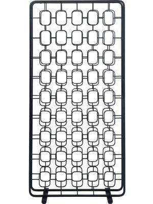 Kare Design Circles Wijnrek - B80 x D35 x H173 cm - Zwart Metaal