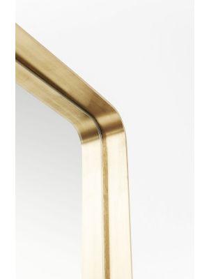 Kare Design Curve Spiegel Rechthoek - B70xH200 cm - Messing