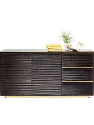 Kare Design Casino Lounge Dressoir - 2-Deurs/3-Laden - Mangohout
