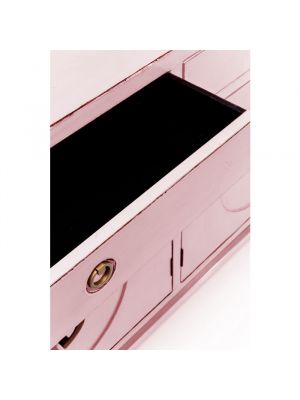 Kare Design Disk Dressoir Pink - B150 x D50 x H84 cm - Roze