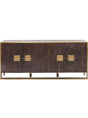 Kare Design - Osaka Dressoir - 4 Deurs - 180x40x80 - Essenhout