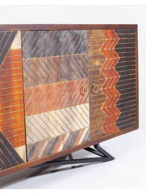 Kare Design - Dressoir Tomahawk 4-Deurs - 177x45x76.5 - Mangohout