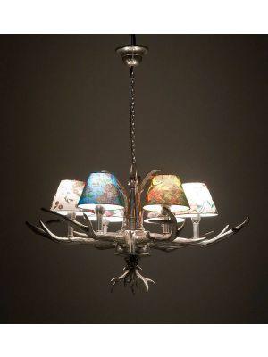 Kare Design Antler Flowers 6 Hanglamp - Multikleur