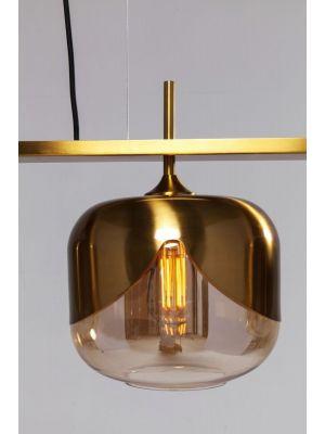 Kare Design Goblet Quattro Hanglamp 4-Lichts - Ø25 cm - Goudkleurig