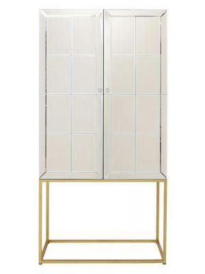 Kare Design Luxury Barkast - B89xD47xH181 cm - Champagne Spiegelglas