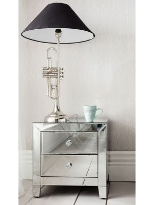 Kare Design Luxury Ladekast 2-Laden - B49xD41xH50 cm - Spiegelglas