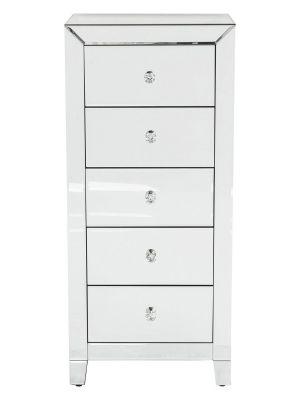 Kare Design Luxury Ladekast 5-laden - B49xD41xH110 cm - Spiegelglas