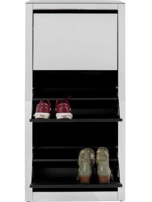 Kare Design Luxury Schoenenkast 3-Vakken - B55xD30xH124 cm - Spiegelglas