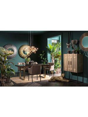 Kare Design Regenwoud Plant Kunststof - Set van 2 - Hoogte 160 cm