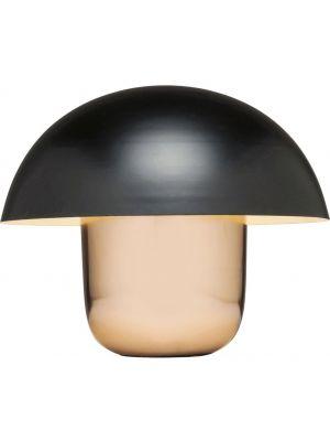Kare Design Mushroom Tafellamp 1-Lichts Ø50 x H44 - Koper en Zwart