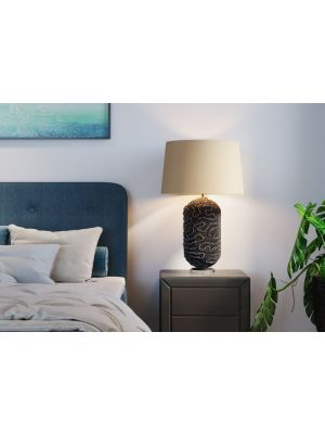 Kare Design Waterflow Blue Tafellamp - B23 x H79 cm