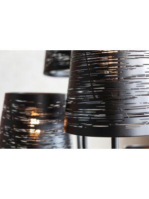 Kare Design Flexible Cinque Vloerlamp 5-lichts - Zwart Metaal