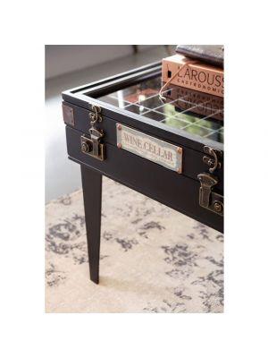 Kare Design Collector Salontafel - B122 x D55 x H46 cm - Zwart
