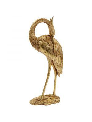 Kare Design Crane Decoratiebeeld Kraanvogel - Goud