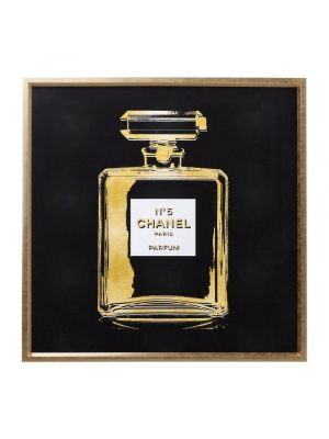 Kare Design Fragrance Fotolijst - L115 x B115 cm - Zwart/Goud