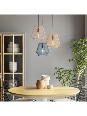 Kare Design Ischia Spiral Tre Hanglamp 3-Lichts - Ø25 cm - Multikleur